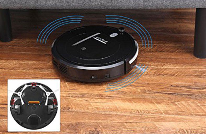 Eyugle Aspirateur Robot KK290A 500pa