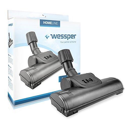 ✧WESSPER® Turbo Brosse d'aspirateur pour Black & Decker WD9610N (ø32mm-38mm, avec des roues)