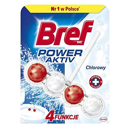 10x bref Power Active WC avec Power Balls à base de Chlorine, 50gr./Stck.