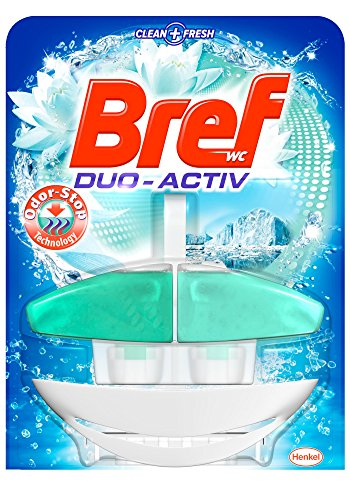 Bref Duo Active Odor Stop-Panier de Toilette 50 ml