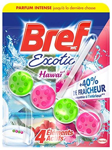 Bref Power Activ' Hawaï Bloc Nettoyant WC 50 g