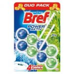 Bref Power active duo pack senteur Pin - Lot de 3 ex.