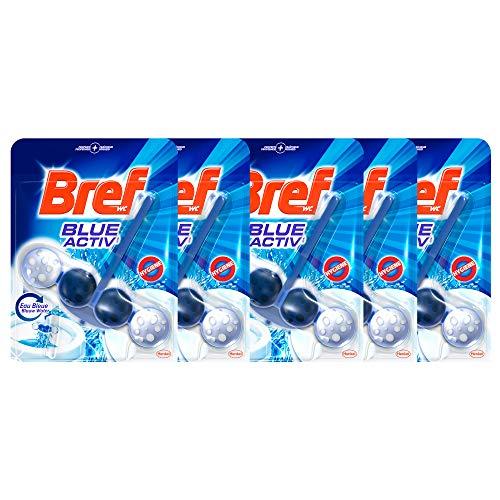 Bref WC Power Activ' Eau Bleue 50 g - Blocs Nettoyants- Lot de 5