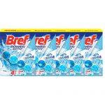 Bref Power Activ' Bloc Nettoyant WC Citron 50 g