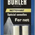 Buhler Nettoyant Fer Net Spécial Semelles 2 Bâtonnets - Lot de 4