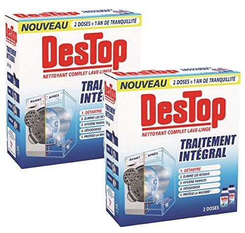 Destop Nettoyant Complet Lave-Linge - 500 ml - Lot de 2