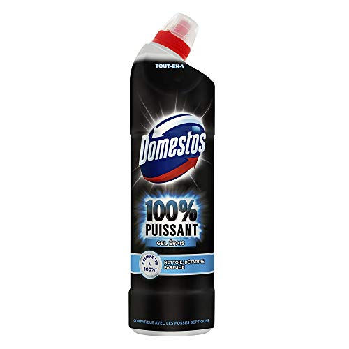 Domestos Gel Nettoyant Wc 100% Puissant 750ml