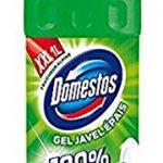 Domestos Gel Nettoyant WC Javel 100% Désinfectant Fraîcheur Alpine 1 L