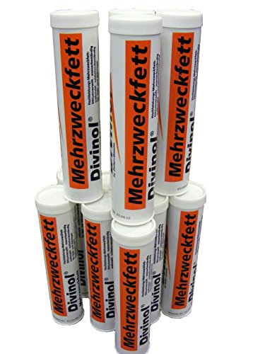Lot de 12 cartouches de graisse multi-usage de 400 ml, lithium, NLGI 2, 22971
