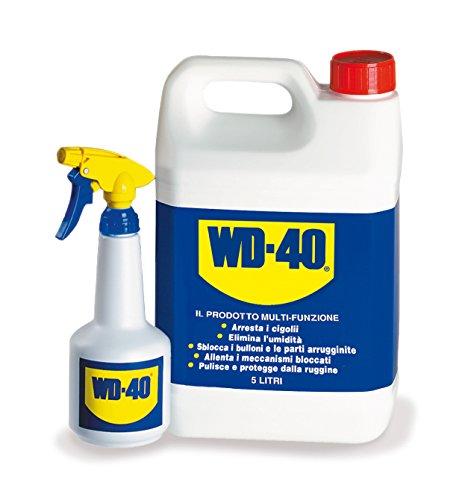 WD 40 Company WD006 Bidon de Dégrippant Lubrifiant 5 L avec pulvérisateur