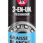 WD 40 Company 017 Graisse au lithium 3-en-un 250 ml Blanc