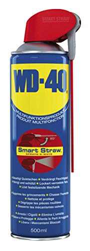 WD-40 Smart Straw Produit de nettoyage polyvalent 500 ml, bleu, 41034