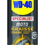 WD-40 specialist Moto 33788 Graisse chaîne condition humide 400 ml
