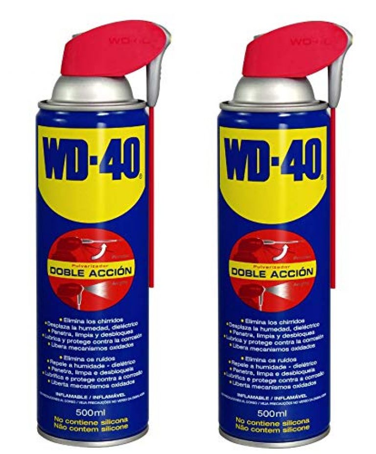 WD40 Spray Multifonction 500 ml Double Position (Aérosol