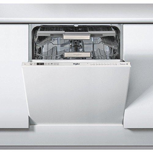 Whirlpool WKCIO 3T123 PEF Entièrement intégré 14places A++ lave-vaisselle - Lave-vaisselles (Entièrement intégré, Argent, Taille maximum (60 cm), Argent, boutons, 1,3 m)