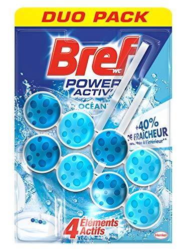 Bref Power Activ' WC Bloc Ocean Duo-Pack