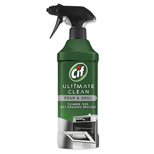 CIF Pistolet Spray Nettoyant Ultimate Clean Four/Grill 435 ml