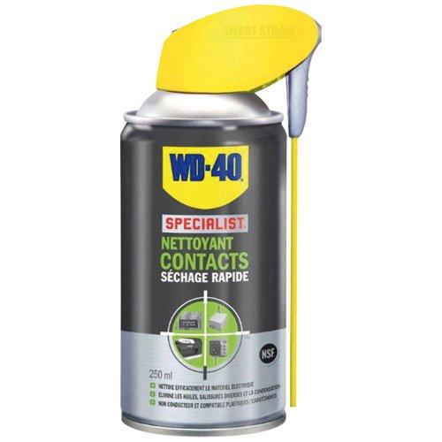 WD-40 Specialist Nettoyant Contacts Aérosol Double Position 250 ml