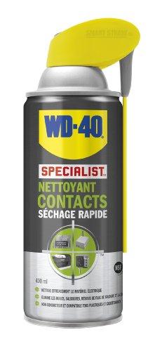 WD-40 Specialist Nettoyant Contacts Aérosol Double Position 400ml