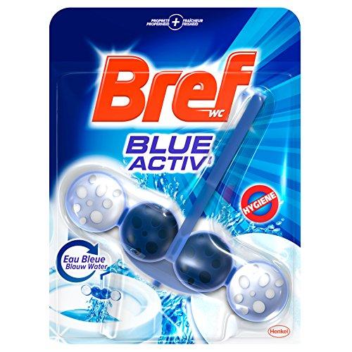 Bref Bloc Power Activ' Nettoyant WC Eau Bleue 50 g